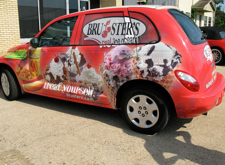 Bruster's Real Ice Cream – Car
